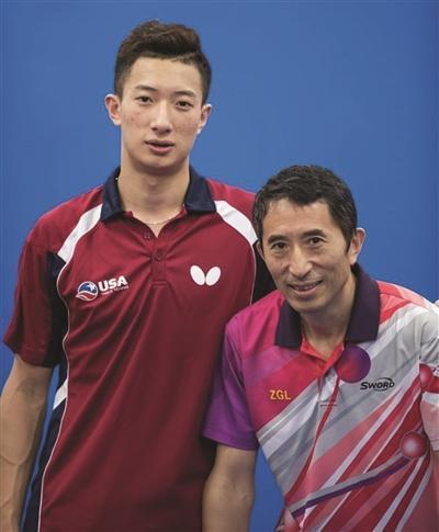 南京小伙获里约单打资格 将代表美国参加奥运会