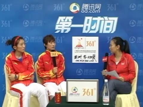 第一时间第56期:曲棍球冠军李红侠付宝荣做客