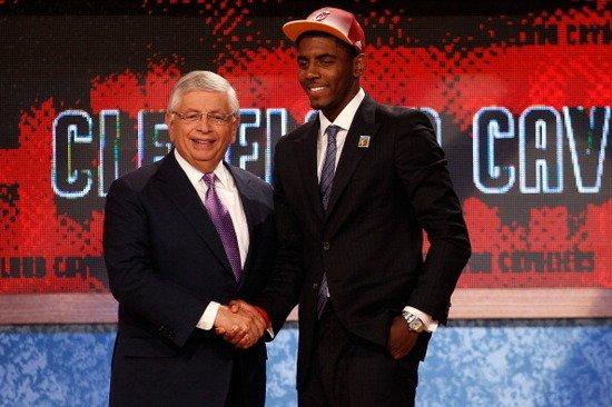 2011年NBA状元秀:骑士队选中凯利-欧文
