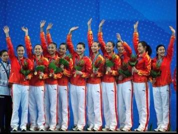中国花样游泳队