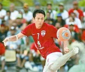 塔希提华裔国脚看宫磊踢球长大 渴望加盟中超