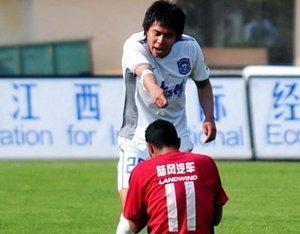 天津客场2-2南昌6轮不胜 中超奇拉维特失点球