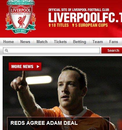 利物浦官网宣布签第二签 降级队核心加盟红军