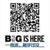 扫描二维码,收听NBA官方微信