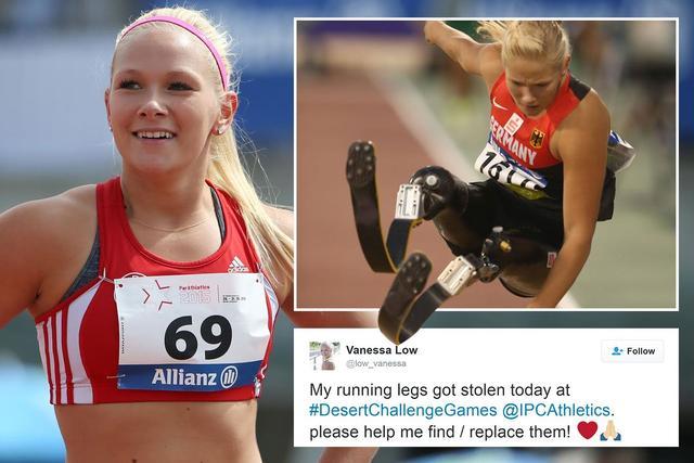 德残奥冠军假肢在美被盗 发推特求助网友寻找