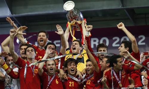 西班牙改写欧洲杯52年纪录 决赛最大比分诞生