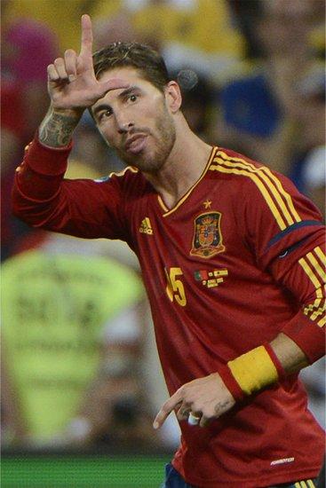 拉莫斯专访:我才不是暴力男 西班牙渴望冠军