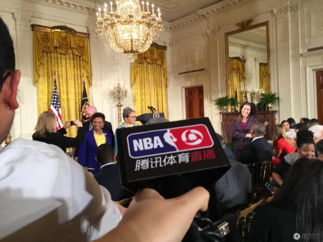 腾讯独家见证勇士白宫行 打造史上最强现场报道