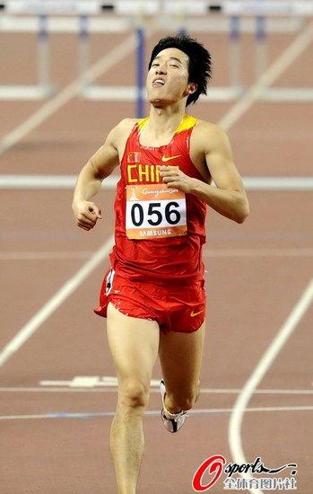 刘翔:下雨也能夺冠军 要越跑越快进13秒20