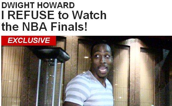 霍华德专注美食拒看总决赛:不想看任何人夺冠