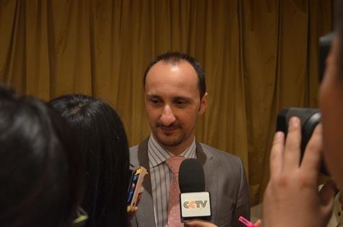 ...托帕洛夫首次在中国北京参加比赛.   ]2012-2013国际棋联大...