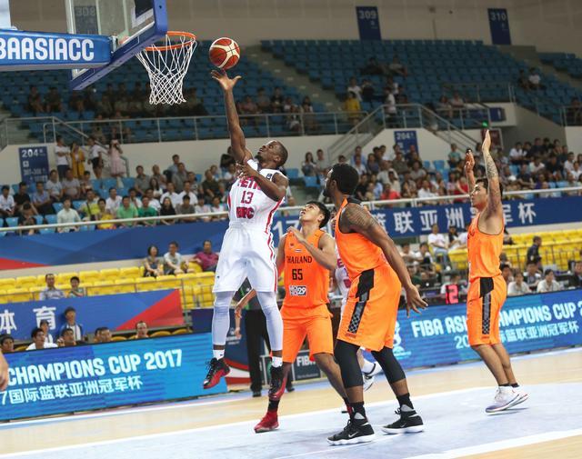篮球亚冠-伊朗霸主51分屠泰国冠军 沃伦20分