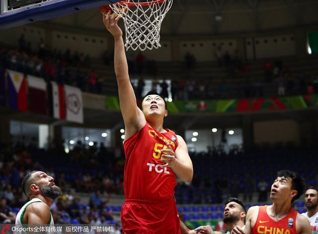 男篮1分险胜黎巴嫩获第5名 平历史第2差战绩
