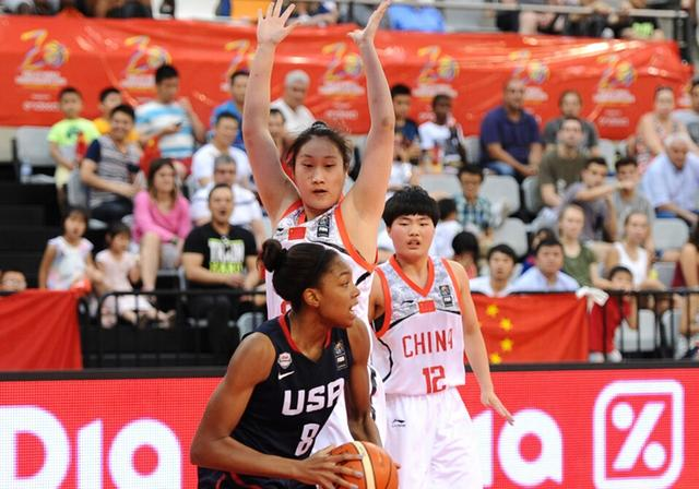 U17世青赛-国青女篮负美国获第4 韩旭16分9板