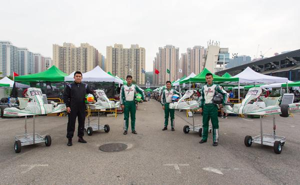 "CTCC车手出战澳门卡丁车 ""火星队""的赛车梦"