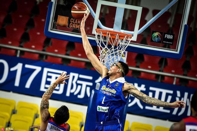 篮球亚冠-菲律宾联胜泰国吸血鬼 奥斯汀27+19