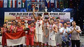 中国3X3U18捧杯含金量高 半决赛力克世界冠军