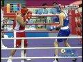 视频:拳击男子91kg上淘汰赛 哈萨克胜第1局