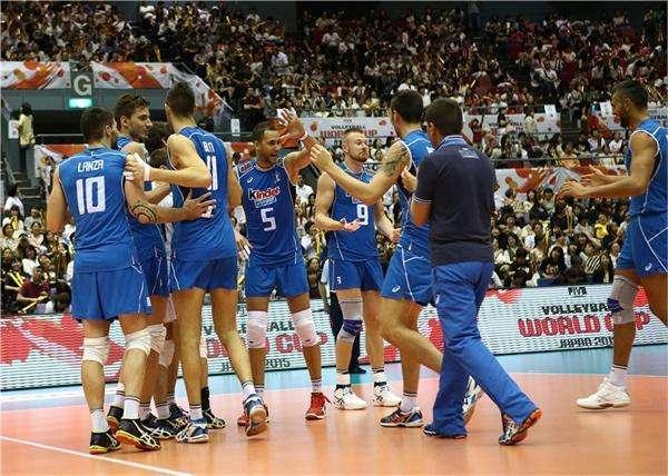 男排大冠军杯意大利爆冷负伊朗 美国横扫日本