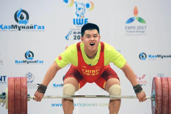 大力士杨哲憧憬里约 中国男举大级别将迎新局面