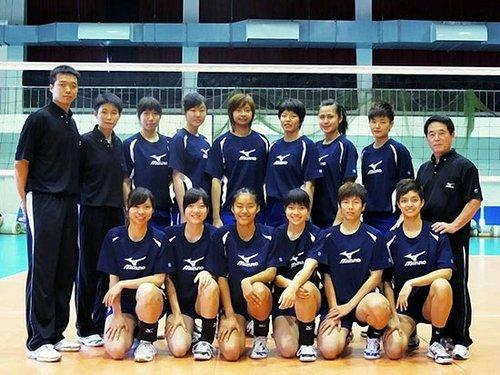 2010世界女排大奖赛中华台北队完全名单