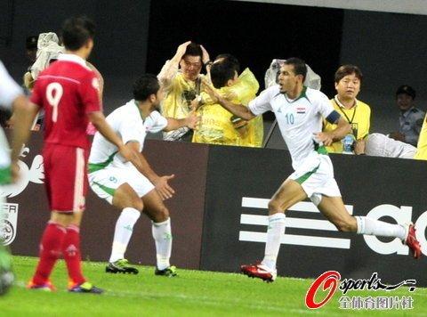 国足0-1负10人伊拉克 尤尼斯绝杀于海失空门