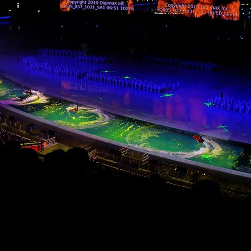 广州亚运开幕式揭秘 100余分钟主题1滴水(图)