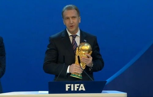 2018年世界杯申办结果揭晓 俄罗斯最终胜出
