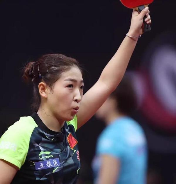 刘诗雯否认队内赛因伤病输球:输强实力队友正常