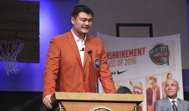 姚明:我们也该有名人堂 中国篮球更强调团队