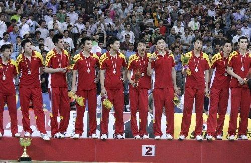 中国男排0-3遭伊朗横扫 无缘夺得亚洲杯冠军