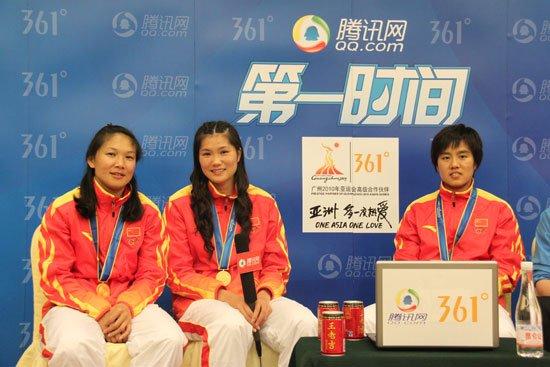 实录:女手冠军成员做客 赛前就下决心赢日本