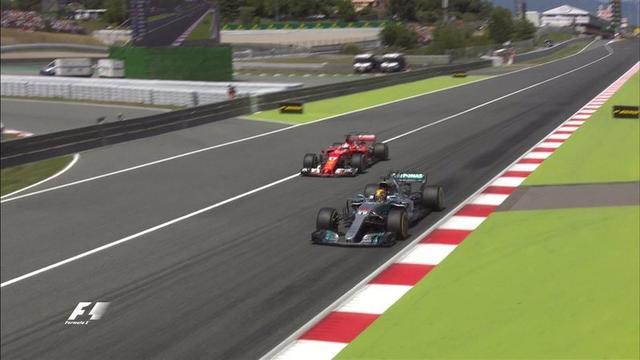 F1西班牙站:小汉夺冠 维特尔第2莱科宁退赛