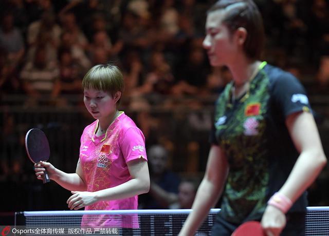 朱雨玲满意自己表现 丁宁:坚定信念是赢球关键