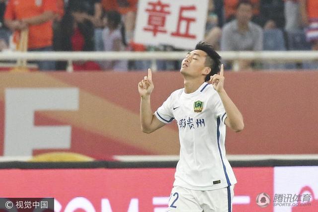 贵州U23谈进球:终于做到了 破球荒提升信心