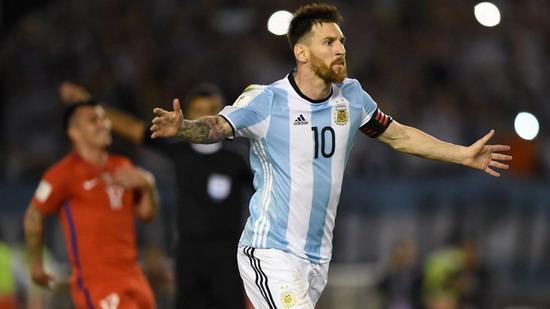 国际足联撤销对梅西的禁赛