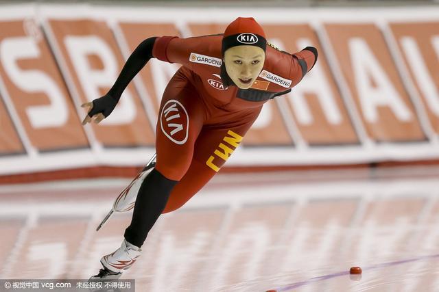 速滑世界杯张虹率中国女队摘金 男队获第四名