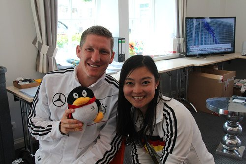 腾讯专访小猪:仍有自信罚点球 德国将夺冠军