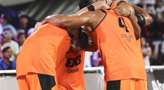 阿布扎比3X3总决赛首日 卡瓜斯展现惊人实力