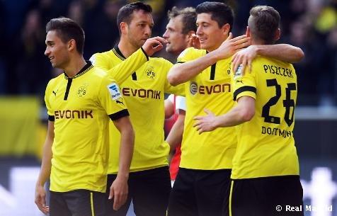欧冠对手动态:多特2-0美因茨 豪取德甲5连胜