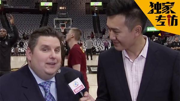 专访ESPN名记:詹皇欧文正较劲 骑士东部冠军
