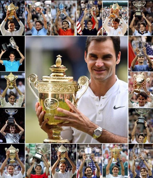 """手记:""""躺冠""""的费德勒是对网球最完美的诠释"""