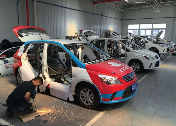 环保旋风 环湖电动汽车挑战赛车辆评测高清图片