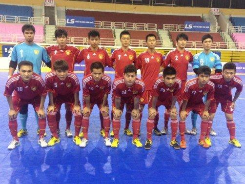 五人制亚锦赛东亚区—中国不败战绩实现3连冠