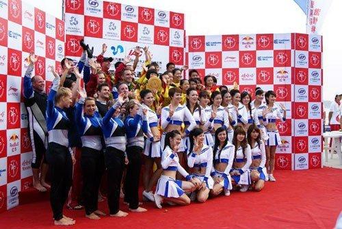 世界水上极速运动赛开幕 两百名选手齐聚柳州