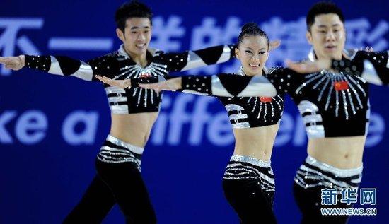 中国健美操队教练:集体操无性别和人数限制