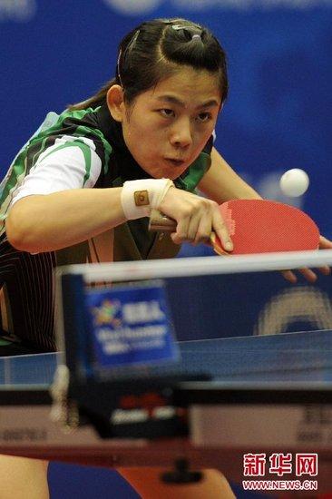 全锦赛曹臻4 0横扫杨扬加冕女单 夺个人第2冠
