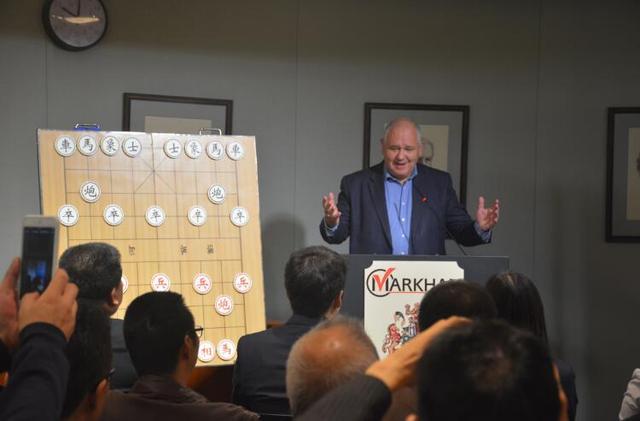 中国象棋走进加拿大 海外推广引起欧美热捧