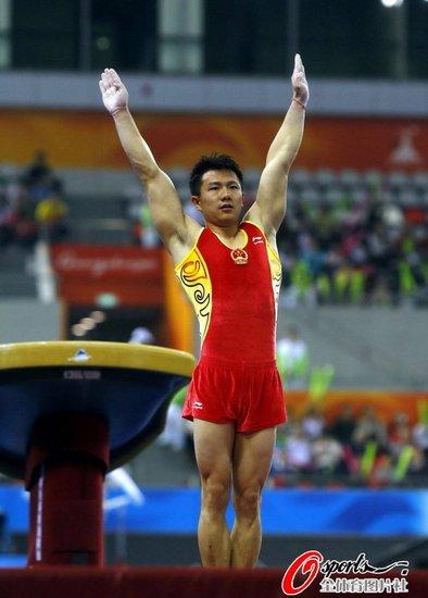 体操男团中国完胜日韩 实现亚运无敌十连冠