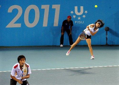 李婷:赛前与压力绝缘 失网球女双冠军有遗憾